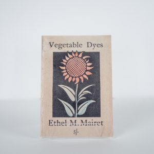 Vegetable Dyes Notebook