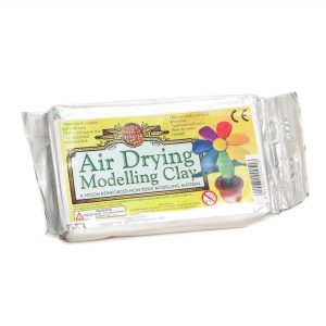 Air dry modelling clay