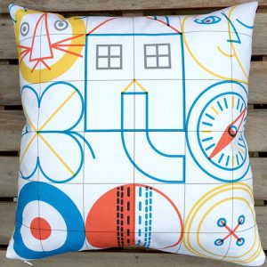 I-spy cushion