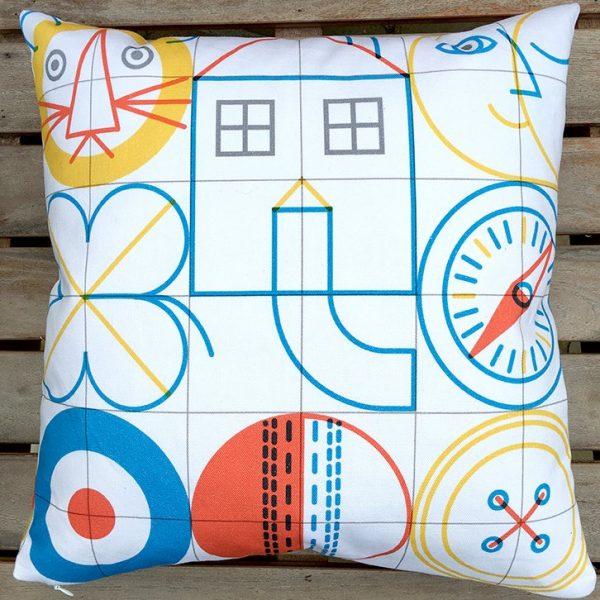 I-spy cushion