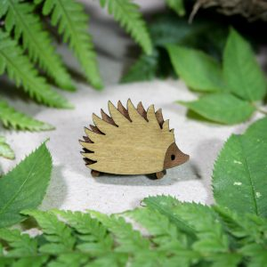 Mini Hedgehog Brooch