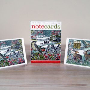 Notecards-hollyhedgeandhares