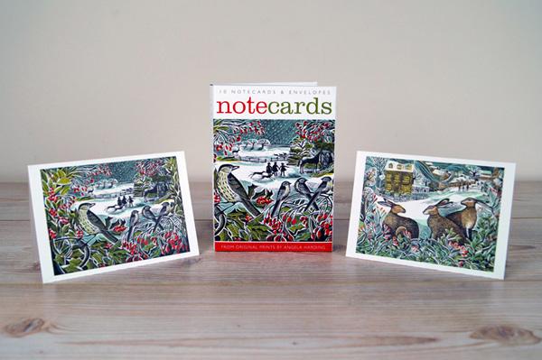 Notecards-hollyhedgeandhares