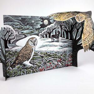 Owl advent calendar