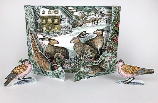 We Three Hares advent calendar 1