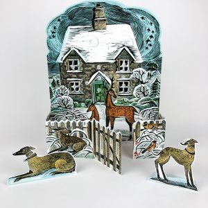 Christmas Cottage Advent 1