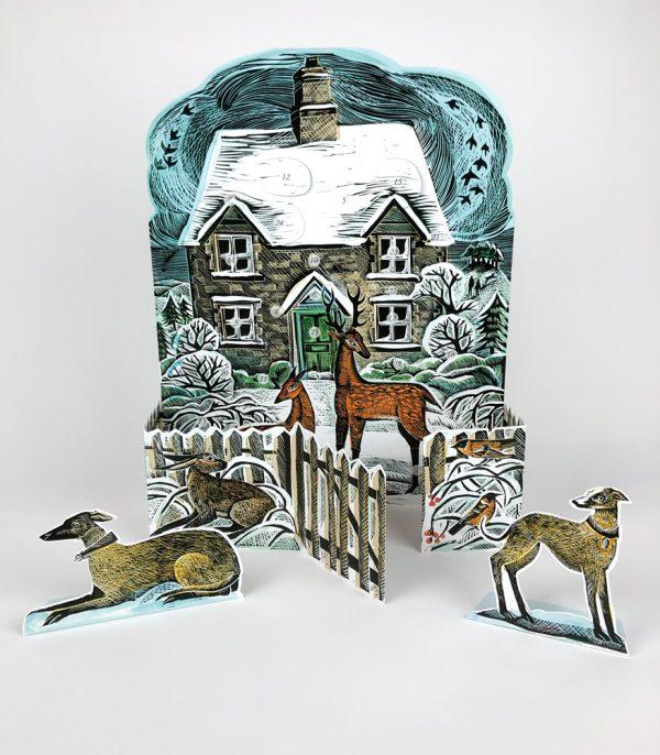 Christmas Cottage Advent 1