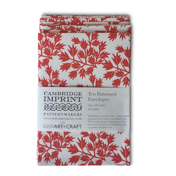 Ditchling Leaf envelopes
