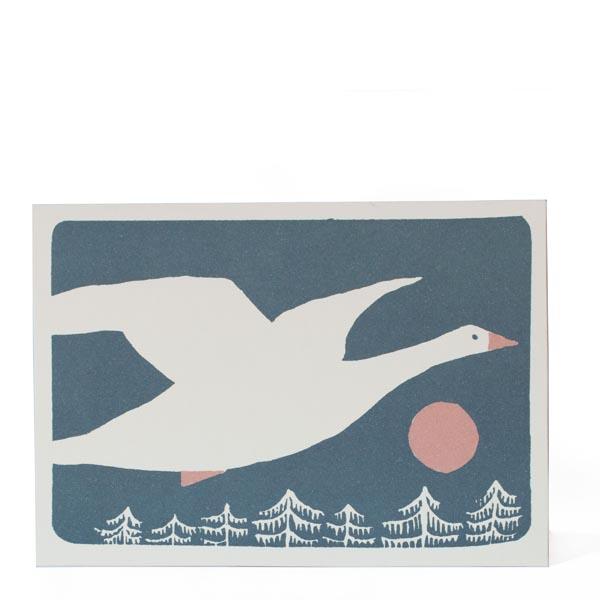 Snow Goose card