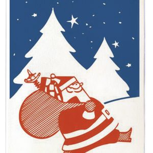 Father Christmas card pack