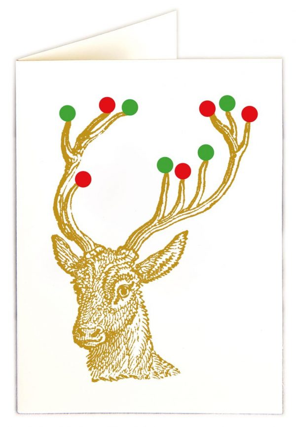 Rudolf with baubles