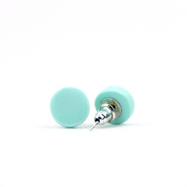 Mint dot studs