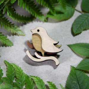 wooden robin 1