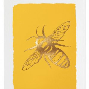 Bee gold card