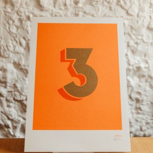 Number print 3