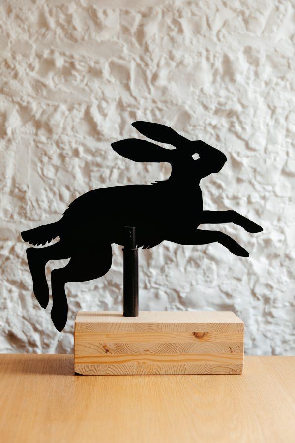 Hare weather vane